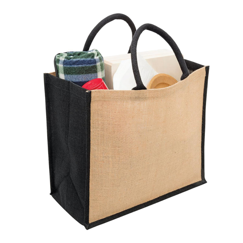 New Zealand based Enviro Bags Direct enviro and eco friendly jute supermarket shopping carry bags