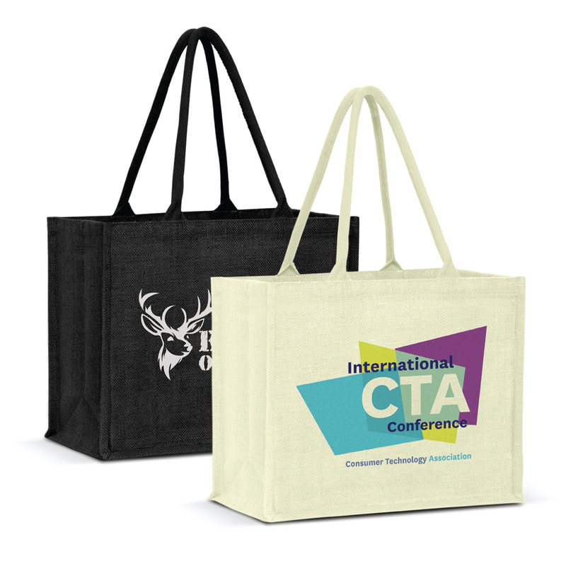 New Zealand based Enviro Bags Direct enviro and eco friendly jute shopping carry bags